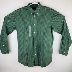 Kids Ralph Lauren Polo Button Down Casual Shirt